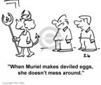 Cartoonist Rex May  Rex May Gag Cartoons 2007-06-19 food