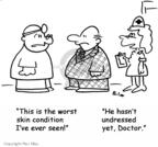 Cartoonist Rex May  Rex May Gag Cartoons 2007-08-29 nurse