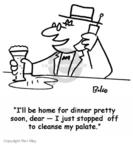 Cartoonist Rex May  Rex May Gag Cartoons 2007-08-31 food