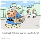 Cartoonist Rex May  Rex May Gag Cartoons 2007-09-03 food