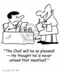 Cartoonist Rex May  Rex May Gag Cartoons 2007-10-24 food