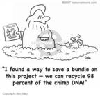 Cartoonist Rex May  Rex May Gag Cartoons 2008-01-29 DNA