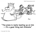 Cartoonist Rex May  Rex May Gag Cartoons 2008-01-31 education
