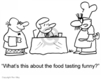 Cartoonist Rex May  Rex May Gag Cartoons 2007-05-18 food
