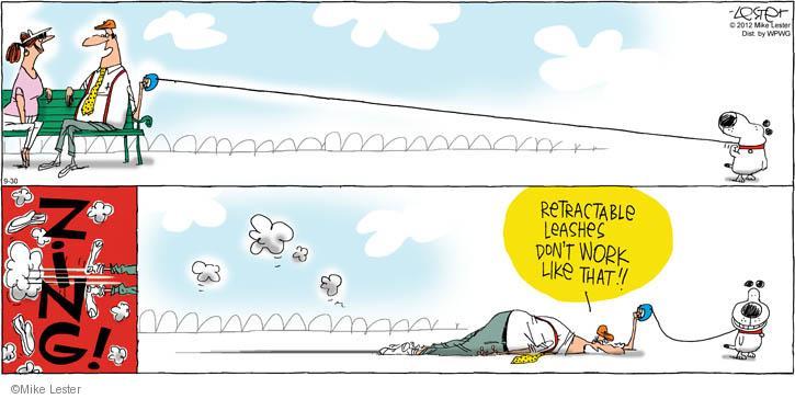 Cartoonist Mike Lester  Mike du Jour 2012-09-30 owner