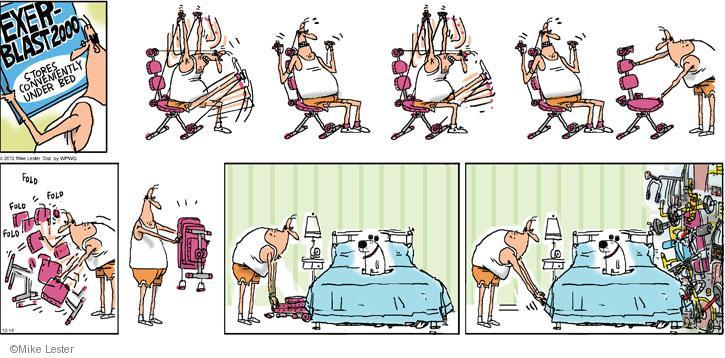 Comic Strip Mike Lester  Mike du Jour 2012-10-14 2000