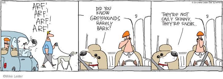 Cartoonist Mike Lester  Mike du Jour 2012-10-06 dog