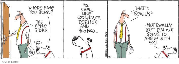 Comic Strip Mike Lester  Mike du Jour 2012-11-02 yoo hoo