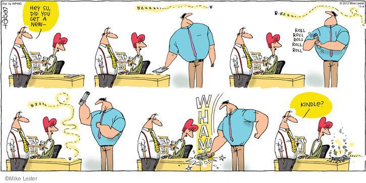 Cartoonist Mike Lester  Mike du Jour 2012-11-04 device