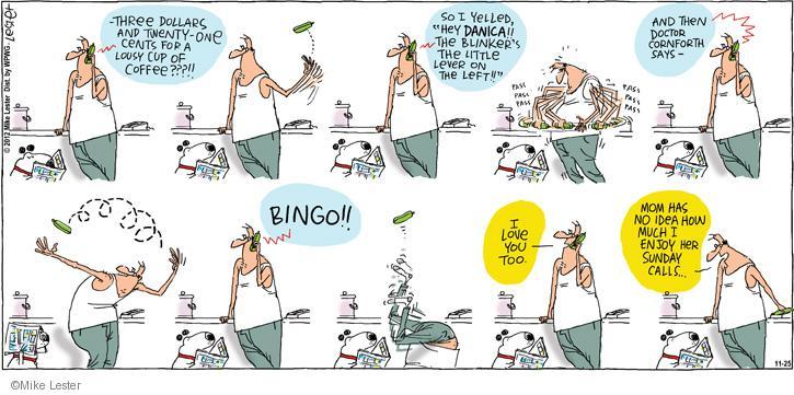 Cartoonist Mike Lester  Mike du Jour 2012-11-25 doctor