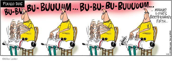 Cartoonist Mike Lester  Mike du Jour 2013-01-15 dog