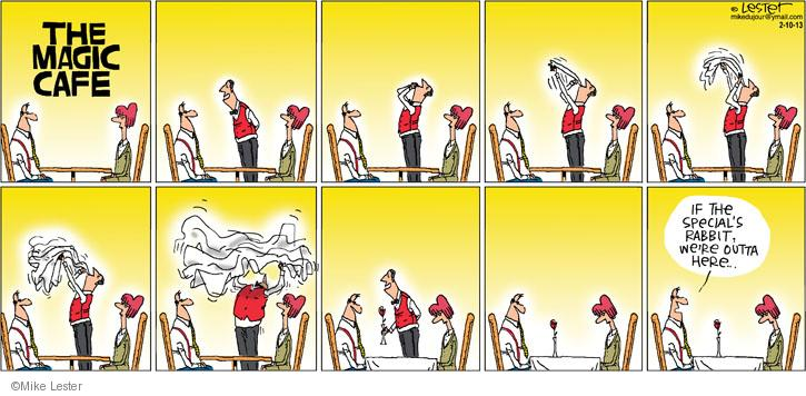 Cartoonist Mike Lester  Mike du Jour 2013-02-10 theme