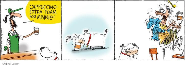 Comic Strip Mike Lester  Mike du Jour 2013-03-01 foam