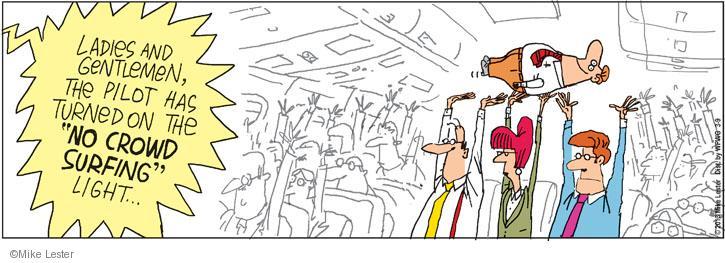 Comic Strip Mike Lester  Mike du Jour 2013-03-09 pit