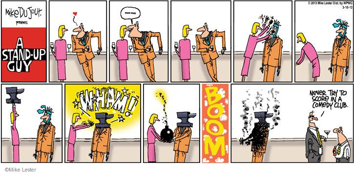 Cartoonist Mike Lester  Mike du Jour 2013-03-10 comedy
