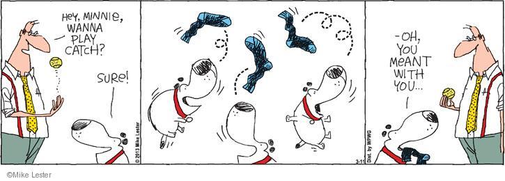 Cartoonist Mike Lester  Mike du Jour 2013-03-11 behavior