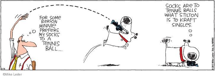 Comic Strip Mike Lester  Mike du Jour 2013-03-14 food quality