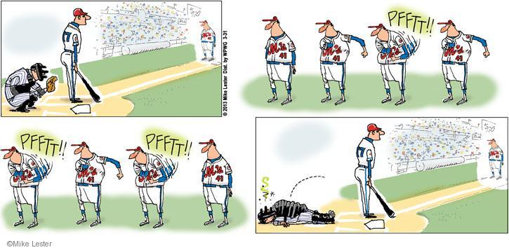 Comic Strip Mike Lester  Mike du Jour 2013-03-31 baseball