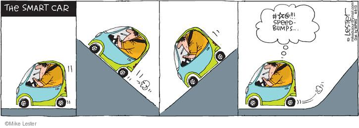 Comic Strip Mike Lester  Mike du Jour 2013-04-09 speed