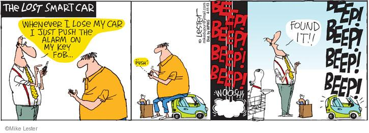 Comic Strip Mike Lester  Mike du Jour 2013-04-11 lose