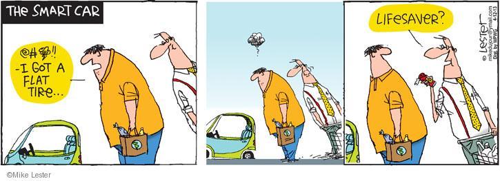 Comic Strip Mike Lester  Mike du Jour 2013-04-12 small car