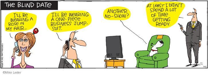 Cartoonist Mike Lester  Mike du Jour 2013-05-17 work clothes