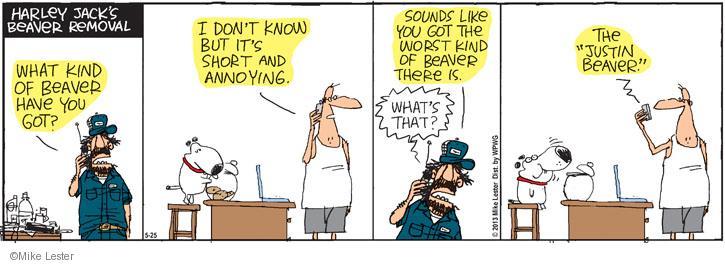 Cartoonist Mike Lester  Mike du Jour 2013-05-25 worst