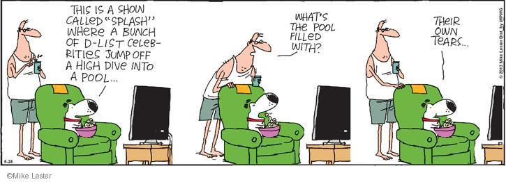 Comic Strip Mike Lester  Mike du Jour 2013-05-28 bunch