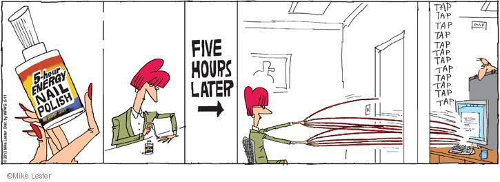 Comic Strip Mike Lester  Mike du Jour 2013-06-11 energy drink