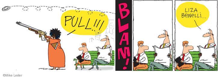 Cartoonist Mike Lester  Mike du Jour 2013-07-02 pull
