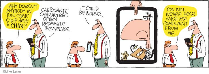 Cartoonist Mike Lester  Mike du Jour 2013-07-17 worse