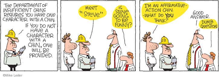 Comic Strip Mike Lester  Mike du Jour 2013-07-19 answer