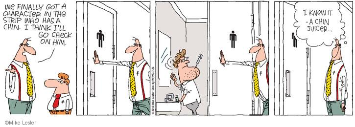 Cartoonist Mike Lester  Mike du Jour 2013-07-20 needle