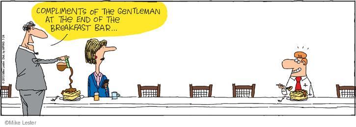 Comic Strip Mike Lester  Mike du Jour 2013-07-24 come