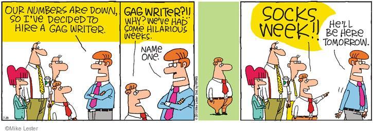 Cartoonist Mike Lester  Mike du Jour 2013-07-29 humor
