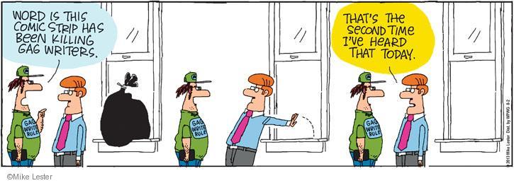 Cartoonist Mike Lester  Mike du Jour 2013-08-02 humor