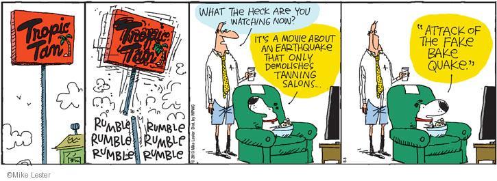 Comic Strip Mike Lester  Mike du Jour 2013-08-08 movie title