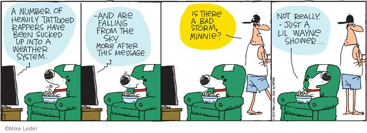 Cartoonist Mike Lester  Mike du Jour 2013-08-10 sky