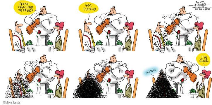 Cartoonist Mike Lester  Mike du Jour 2013-08-25 strength