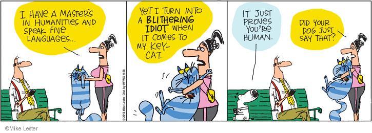 Cartoonist Mike Lester  Mike du Jour 2013-09-28 human