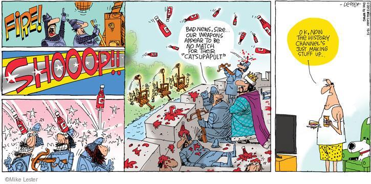 Comic Strip Mike Lester  Mike du Jour 2013-10-13 appear