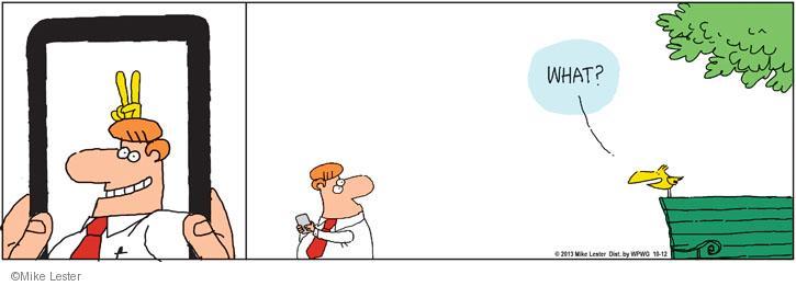 Comic Strip Mike Lester  Mike du Jour 2013-10-12 trick