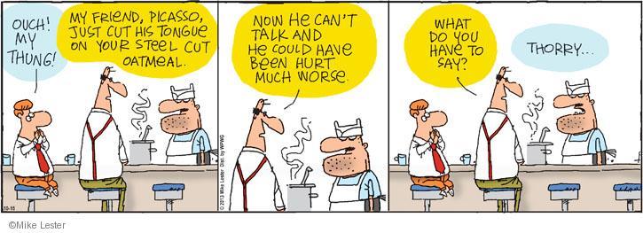Cartoonist Mike Lester  Mike du Jour 2013-10-15 worse