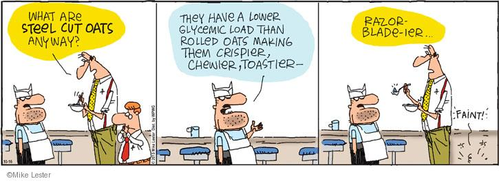 Cartoonist Mike Lester  Mike du Jour 2013-10-16 healthy