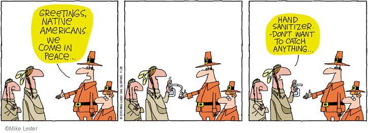 Comic Strip Mike Lester  Mike du Jour 2013-11-26 catch