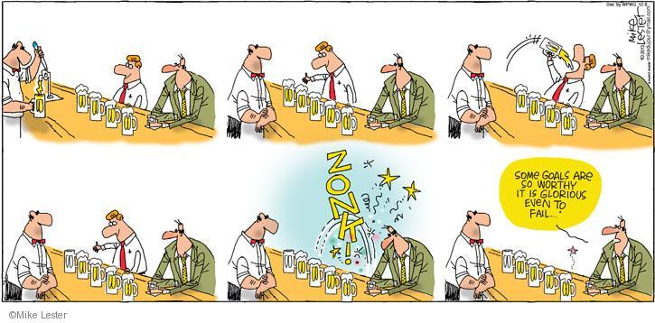 Cartoonist Mike Lester  Mike du Jour 2013-12-08 drinker