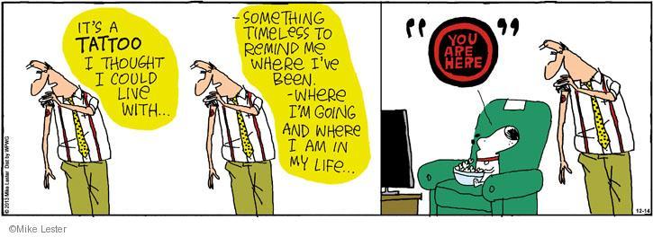 Comic Strip Mike Lester  Mike du Jour 2013-12-14 body