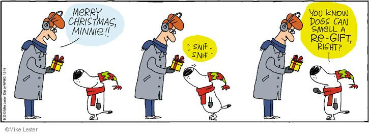 Cartoonist Mike Lester  Mike du Jour 2013-12-18 holiday