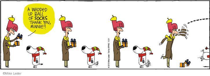 Cartoonist Mike Lester  Mike du Jour 2013-12-21 holiday