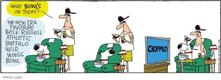 Comic Strip Mike Lester  Mike du Jour 2013-12-28 television cartoon